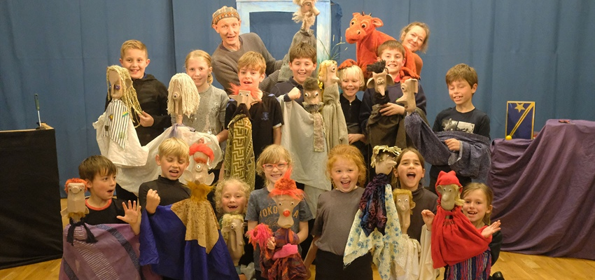 Professional Puppetry Opportunity for Children in Hawes